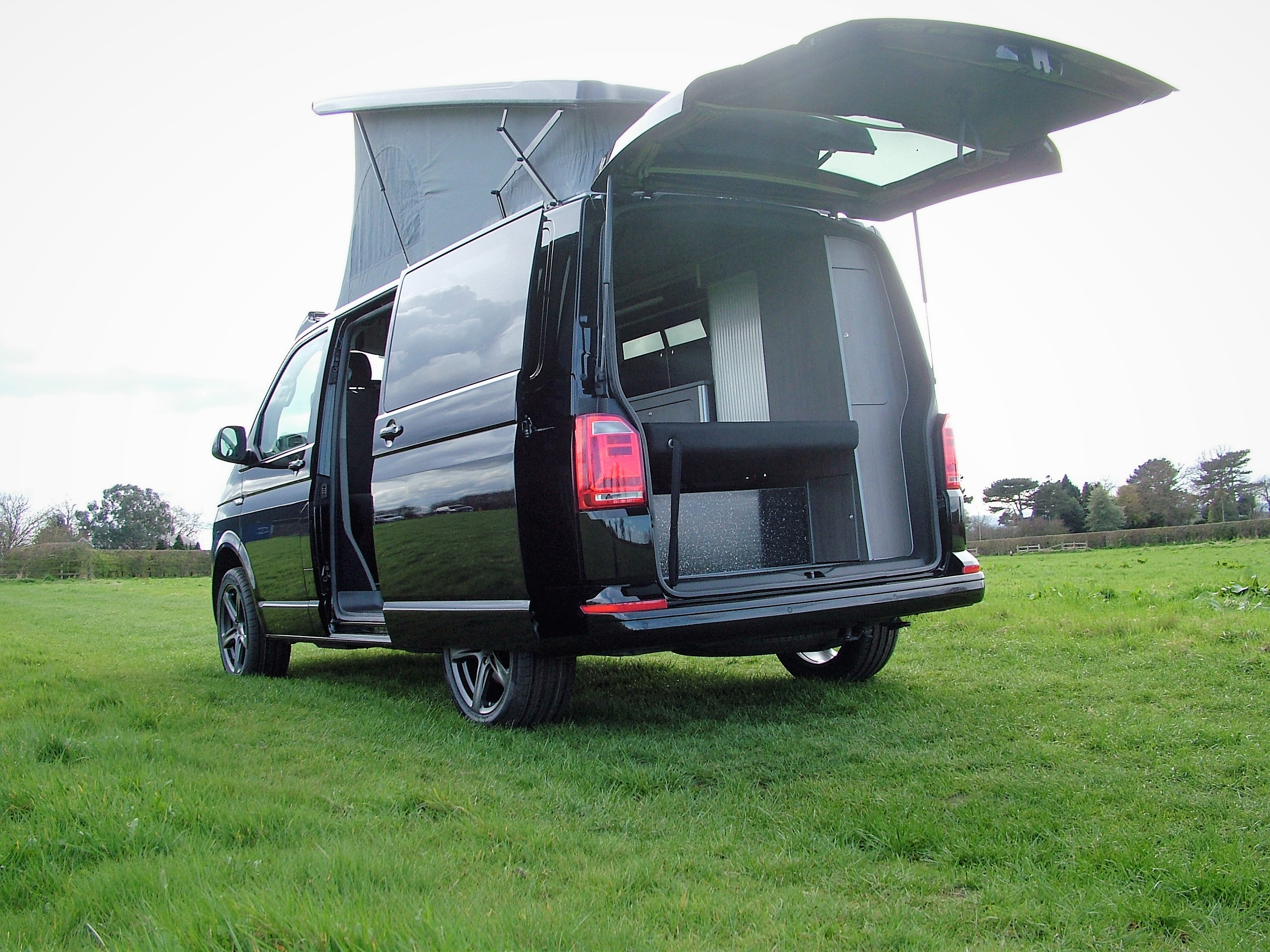 Volkswagen T5 Camper Van Conversions From Big Blue Sky Leicestershire