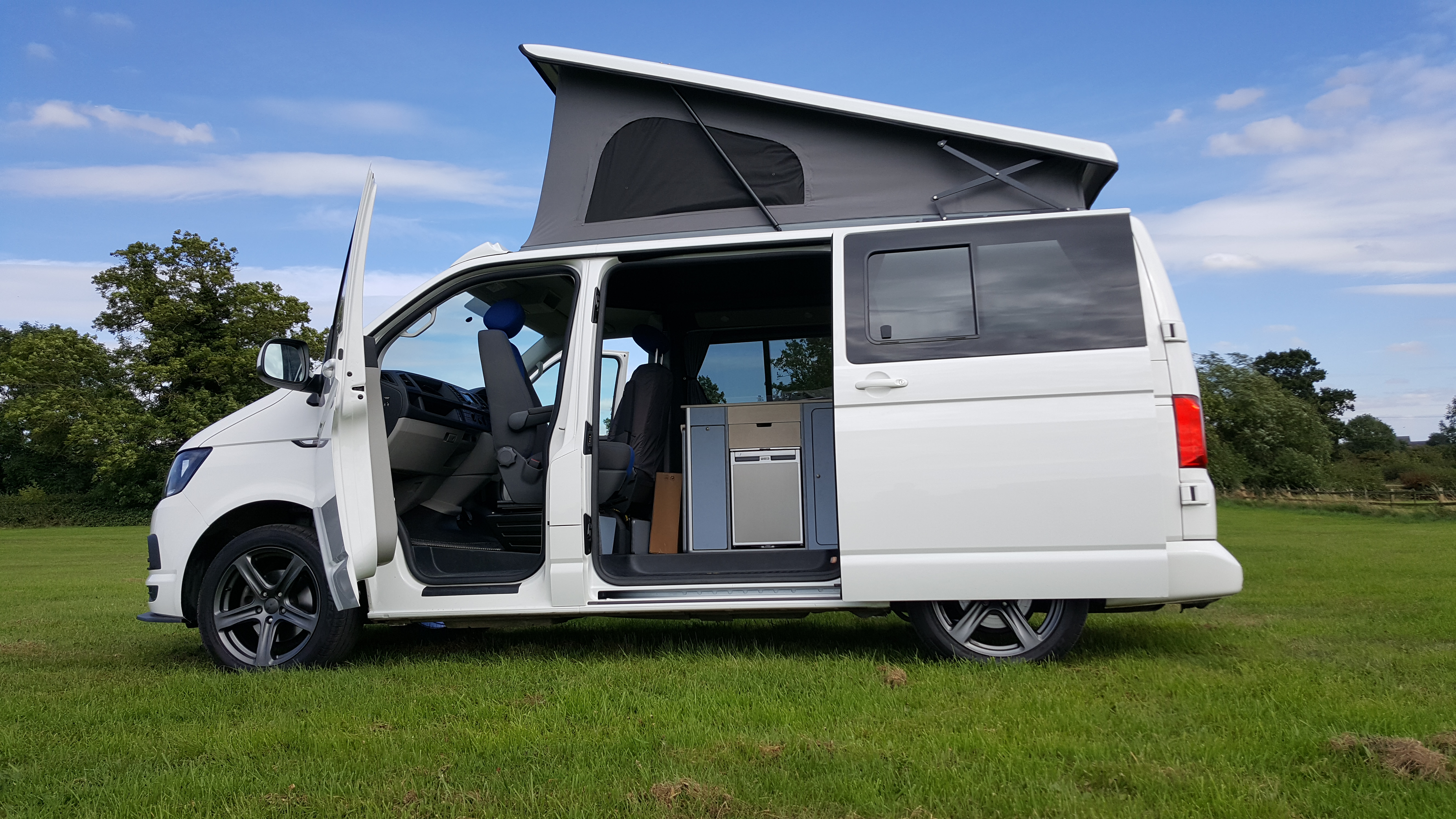 campers sky campervan conversions t6 camper reimo installers approved van vw volkswagen