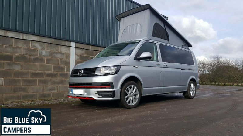 our 2016 demo volkswagen t6 campervan now for sale - vw camper